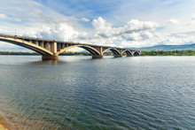 Communal Bridge Across The Yen...