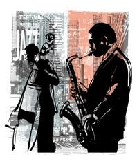 Fototapeta Nowy York Jazz in New York