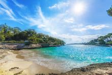 Cala Dor Beach At Cala D'Or Ci...