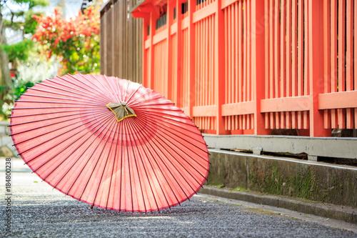 Fotografie, Obraz  京都の風景~和傘~