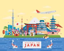 Japanese Famous Tourist Destin...