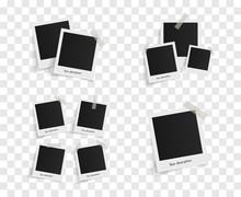 Set Of Polaroid Vector Photo F...