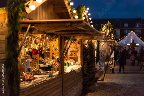 Canvastavla Weihnachtsmarkt in NRW Deutschland
