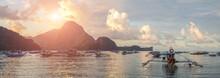 Bangka Boat On El Nido In The ...