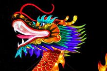 Illuminated Chinese Dragon