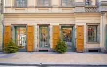 Geschäft In Der Innenstadt Von Budapest, Ungarn (Europa)