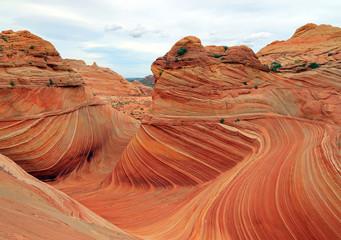 FototapetaThe Wave in the Arizona desert, USA.