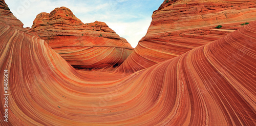 Photo sur Aluminium Arizona The Wave in the Arizona desert, USA.