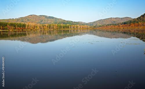 Papiers peints Piscine Manzherok lake near Manzherok village. Altai Republic. Russia