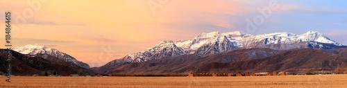 Cuadros en Lienzo Autumn scene in the Wasatch Mountains, Utah, USA.
