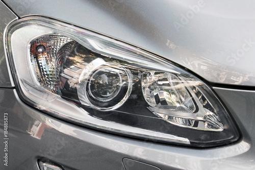 Fototapeta Car headlights. obraz na płótnie