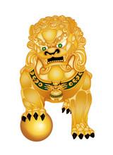 Foo Dog Guardian Lion