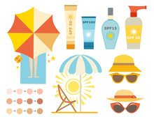 Cream Sunscreen Bottle Vector ...