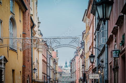 fototapeta na szkło The old Town. Warsaw.