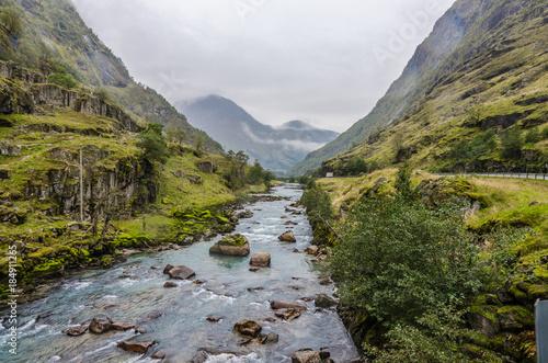 Papiers peints Alpes Mountain river