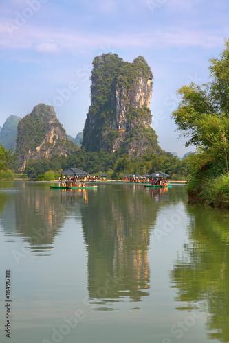 Canvas Prints Guilin Li River