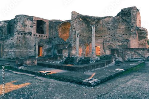 Stampa su Tela The Beauty of Villa Adriana, Tivoli, on a wonderful December afternoon