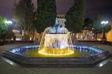 Sabir Square Fountain, Baku, A...
