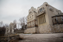 An Old Building Inthe Art Nouveau Style, The House Of The Merchant Golovkin