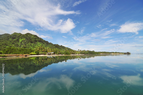 Kosrae - an island in Federated States of Micronesia.