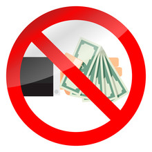 Ban Cash Money Icon