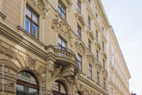 Foto  Historische Gebäude in der Altstadt von Wien, Österreich