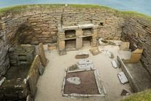 Skara Brae Prehistoric House On Orkney