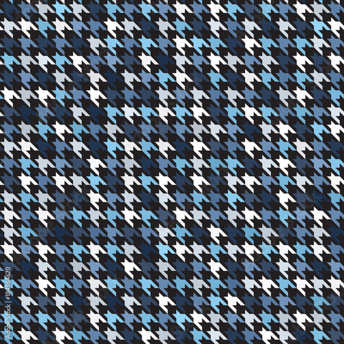 Photo  Houndstooth pattern. Seamless vector