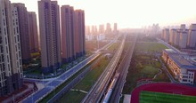 China's Modern High Rail Railw...