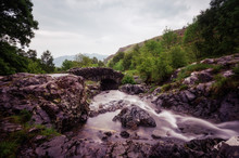 Ashness Bridge Lake District U...
