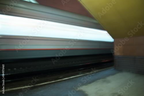 Papiers peints Tunnel Train railcars