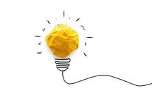 Idea Concept With Innovation A...