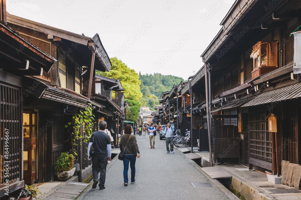 Fototapety, obrazy: 飛騨高山の町並み