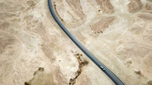 Desert Road - Aerial Image Of ...