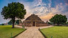 Sanchi Stupa, Madhya Pradesh, ...