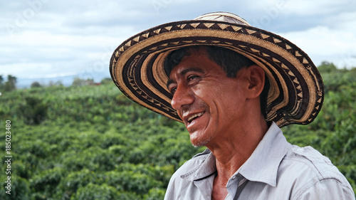 Fotografie, Obraz  Happy Farmer