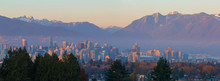 Vancouver BC Downtown Cityscap...