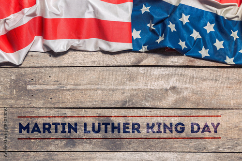 Photo Happy martin luther king day background