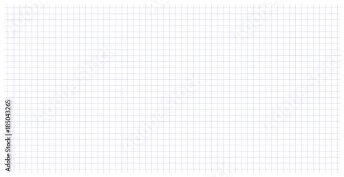 Square wide grid pattern art blue color in dotted line Fototapet