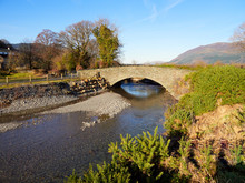 The New Stone Bridge Over Newl...