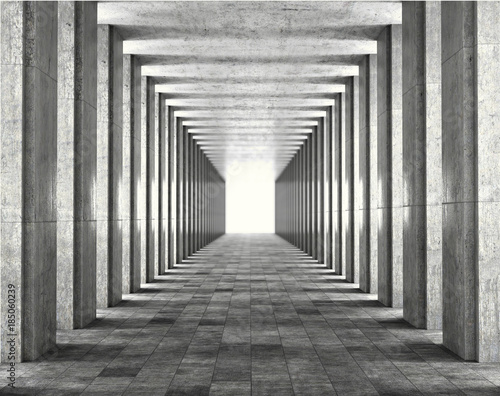 light-passing-through-the-columns-of-a-modern-urban-building-light-and-shadows-between-the-concrete-columns-of-the-long-koredor-3d-illustration
