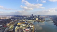 Downtown Pittsburgh And Heinz ...