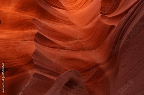 Keuken foto achterwand Rood traf. Stunning Antelope Canyon