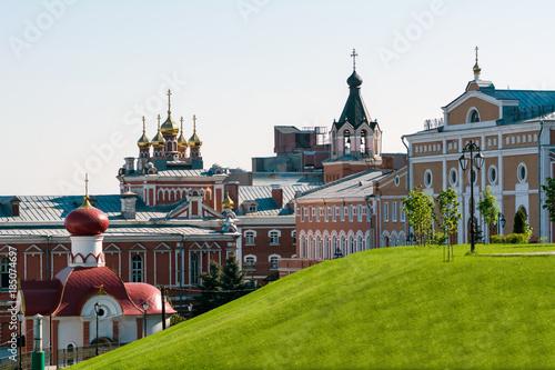 Russian orthodox monastery/Russian orthodox monastery in Samara Canvas-taulu