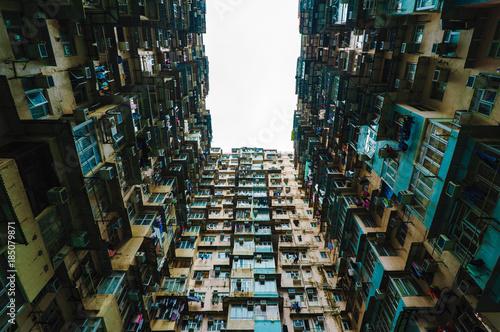 Yichang building scenery in Hongkong