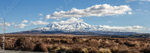 Photo sur Aluminium Brun profond Mount Ruapehu