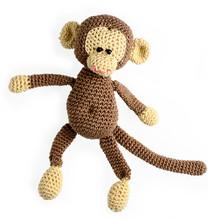 Amigurumi Crocheted Monkey Toy...