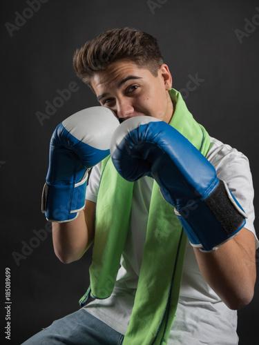 Fotografía  Young boxer