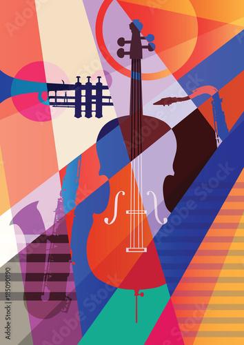 Plakaty Gatunki Muzyczne   colorful-music-background
