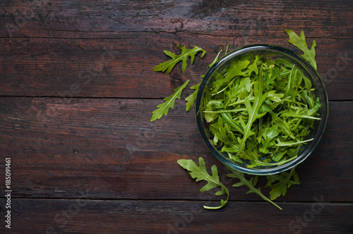 Photo Fresh arugula